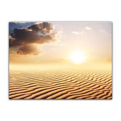 Leinwandbild - Sahara - Wüste in Afrika – Bild 3
