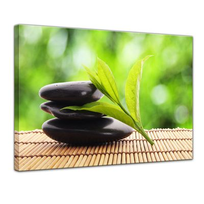 Leinwandbild - Zen Steine V – Bild 1
