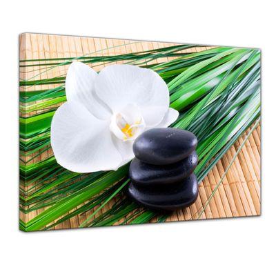 Leinwandbild - Zen Steine VI – Bild 1