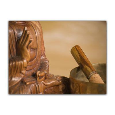 Leinwandbild - Buddha II – Bild 2