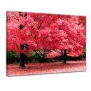Leinwandbild - Herbst Abstrakt  001