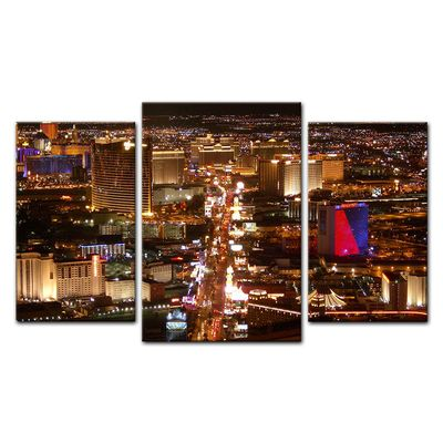 Leinwandbild - Las Vegas Strip bei Nacht – Bild 14