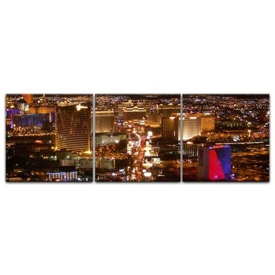 Leinwandbild - Las Vegas Strip bei Nacht – Bild 8