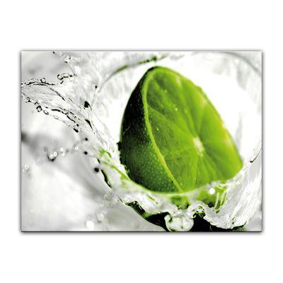 Leinwandbild - Limette – Bild 4