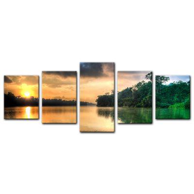 Leinwandbild - Morgenreflektion – Bild 15