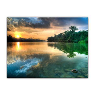 Leinwandbild - Morgenreflektion – Bild 3