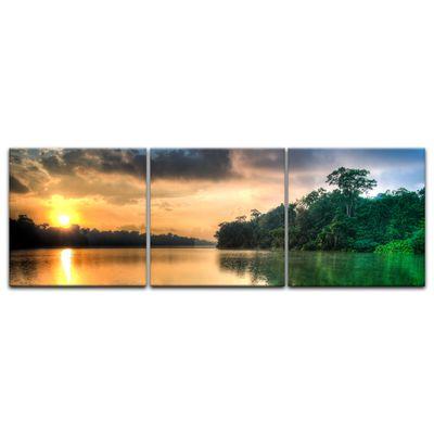 Leinwandbild - Morgenreflektion – Bild 8