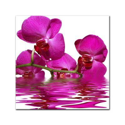 Leinwandbild - Orchidee II – Bild 2