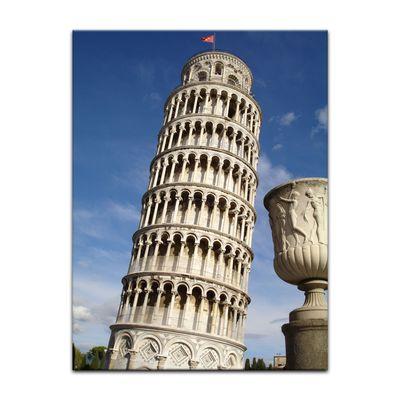 Leinwandbild - Der schiefe Turm von Pisa – Bild 9