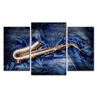 Leinwandbild - Saxophon  – Bild 12