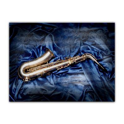 Leinwandbild - Saxophon  – Bild 4