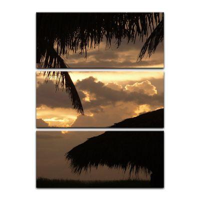 Leinwandbild - Sonnenuntergang II – Bild 9