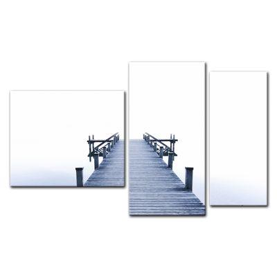 Leinwandbild - Steg II – Bild 16