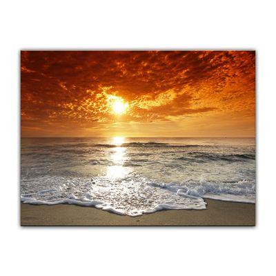 Leinwandbild - Sonnenuntergang in Korsika – Bild 4