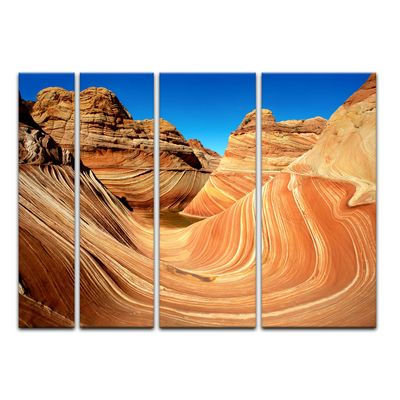 Leinwandbild - Coyote Buttes Nord - The Wave II – Bild 9