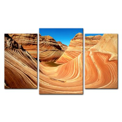Leinwandbild - Coyote Buttes Nord - The Wave II – Bild 11
