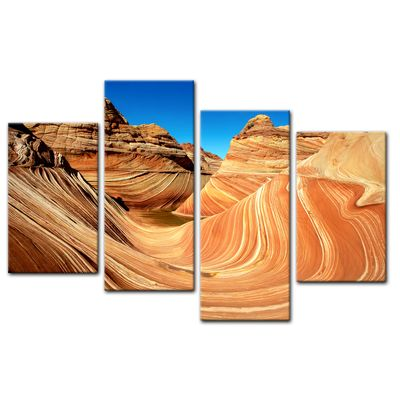 Leinwandbild - Coyote Buttes Nord - The Wave II – Bild 12