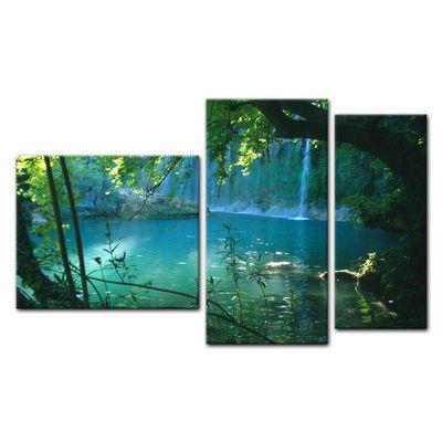 Leinwandbild - Kursunlu Wasserfälle - Türkei – Bild 12