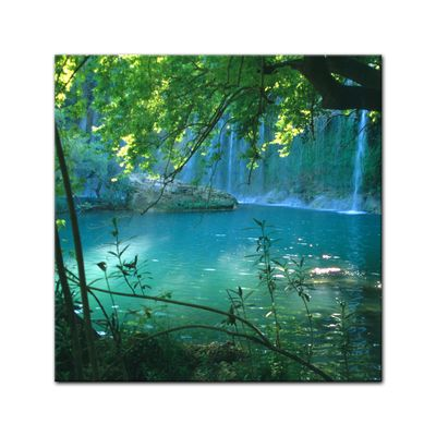 Leinwandbild - Kursunlu Wasserfälle - Türkei – Bild 2