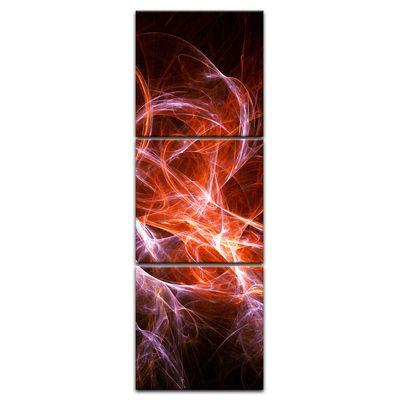 Leinwandbild - Abstrakt lila rot  – Bild 7