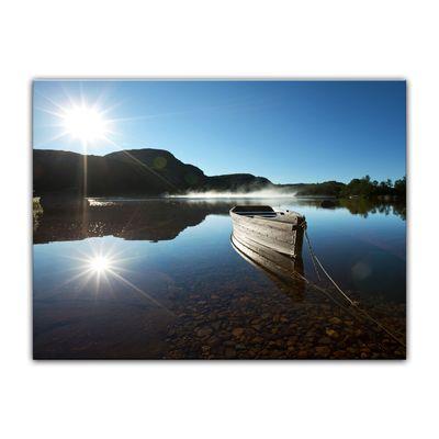 Leinwandbild - Boot am See – Bild 4