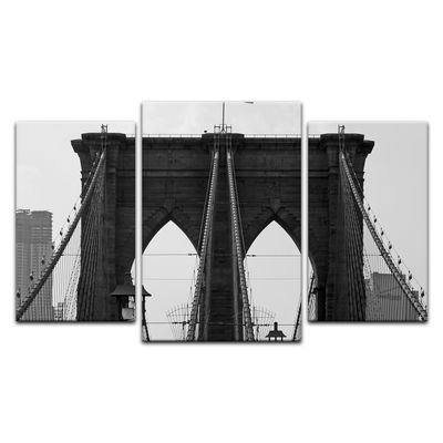Leinwandbild - Brooklyn Bridge USA 2 – Bild 3
