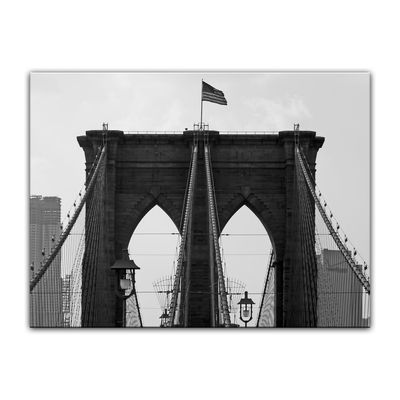 Leinwandbild - Brooklyn Bridge USA 2 – Bild 4
