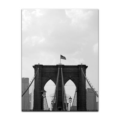 Leinwandbild - Brooklyn Bridge USA 2 – Bild 5