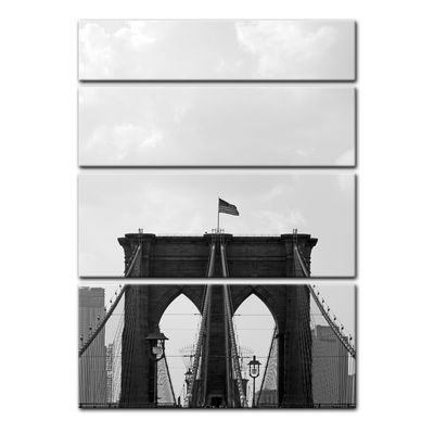Leinwandbild - Brooklyn Bridge USA 2 – Bild 7