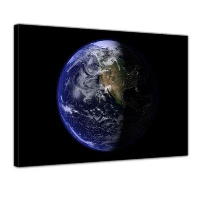 Leinwandbild - Erde – Bild 1