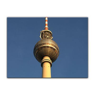 Leinwandbild - Fernsehturm – Bild 6