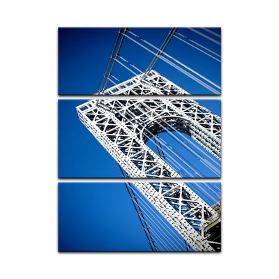 Leinwandbild - George Washington Bridge – Bild 9