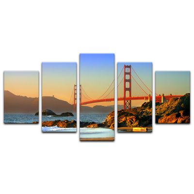Leinwandbild - Golden Gate Bridge – Bild 3