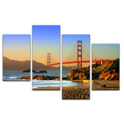 Leinwandbild - Golden Gate Bridge – Bild 5