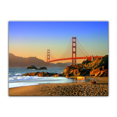 Leinwandbild - Golden Gate Bridge – Bild 6