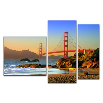 Leinwandbild - Golden Gate Bridge – Bild 7