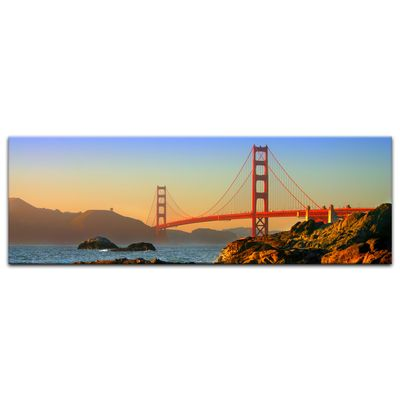 Leinwandbild - Golden Gate Bridge – Bild 9