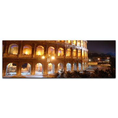 Leinwandbild - Kolosseum bei Nacht – Bild 5