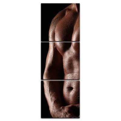 Leinwandbild - Männerkörper – Bild 12