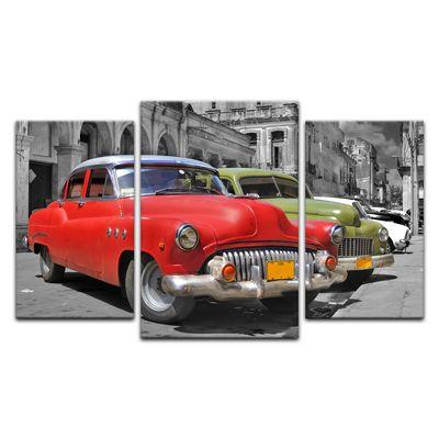 Leinwandbild - Oldtimer Kuba – Bild 4