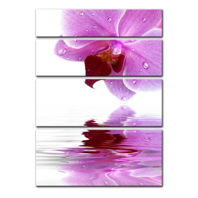 Leinwandbild - Orchideenblüte – Bild 12