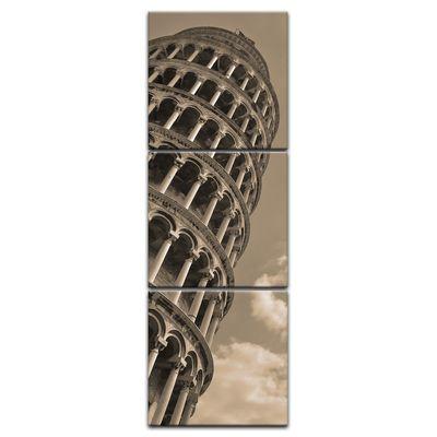 Leinwandbild - Schiefer Turm von Pisa – Bild 11