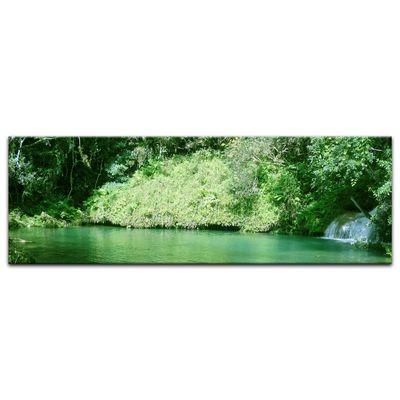 Leinwandbild - See im Dschungel – Bild 5