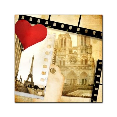 Leinwandbild - Paris in Love – Bild 2