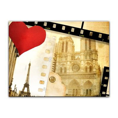 Leinwandbild - Paris in Love – Bild 8