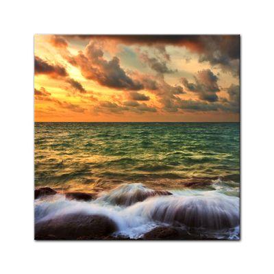 Leinwandbild - Tropical Sunset – Bild 2