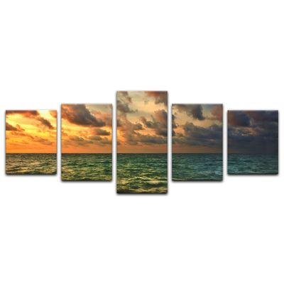 Leinwandbild - Tropical Sunset – Bild 10