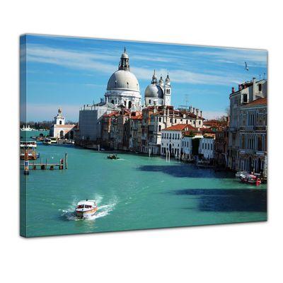 Leinwandbild - Venedig - Markusdom – Bild 1