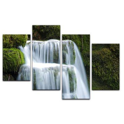 Leinwandbild - Wasserfall – Bild 12