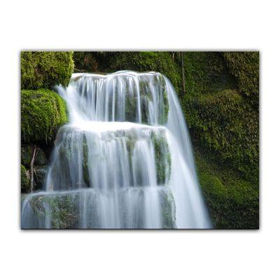 Leinwandbild - Wasserfall – Bild 8